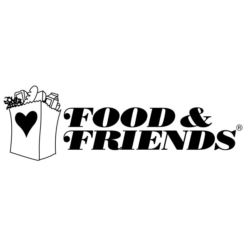 Food & Friends vector