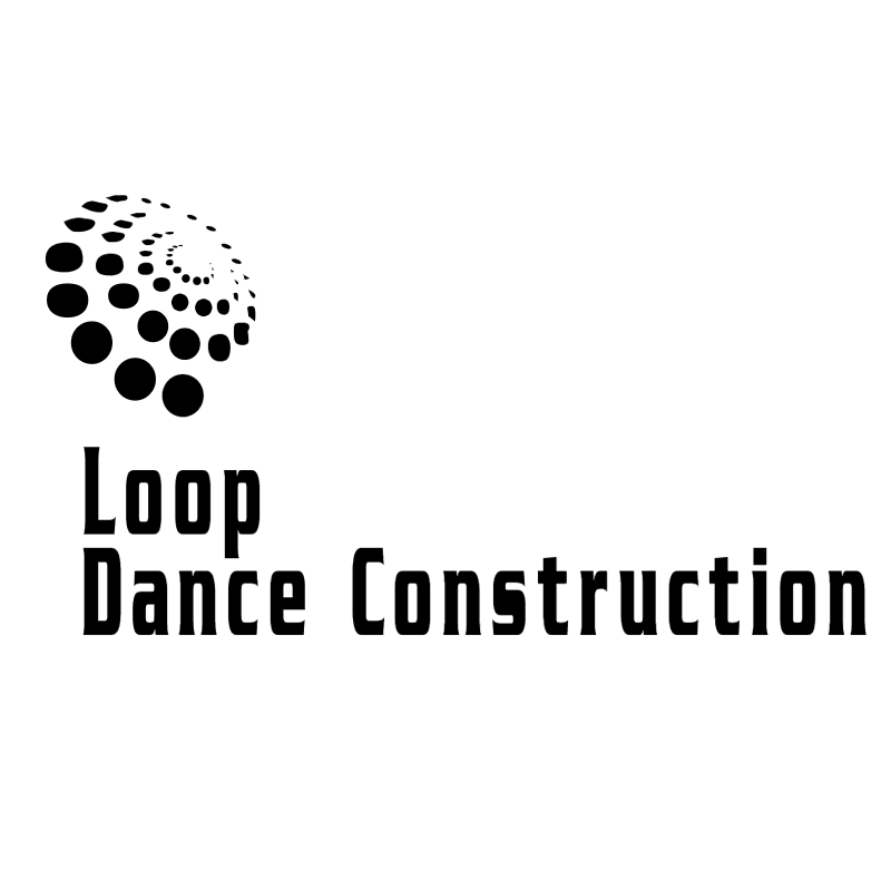 Loop Dance Construction vector