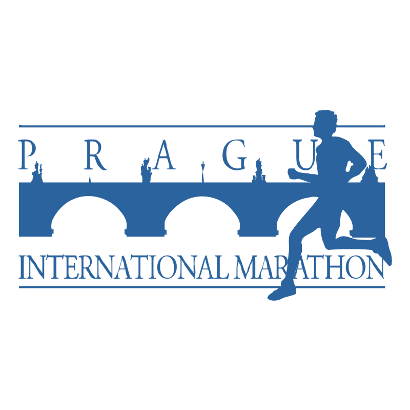 Prague International Marathon vector