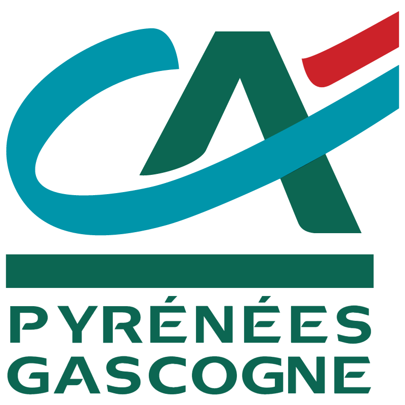 Pyrenees Gascogne vector