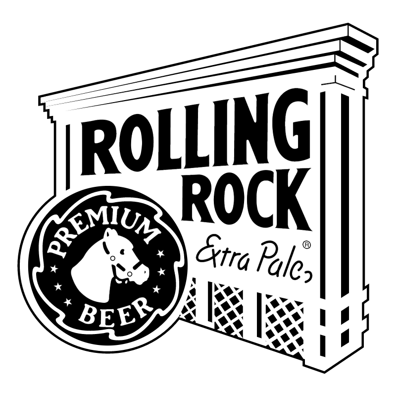 Rolling Rock vector logo