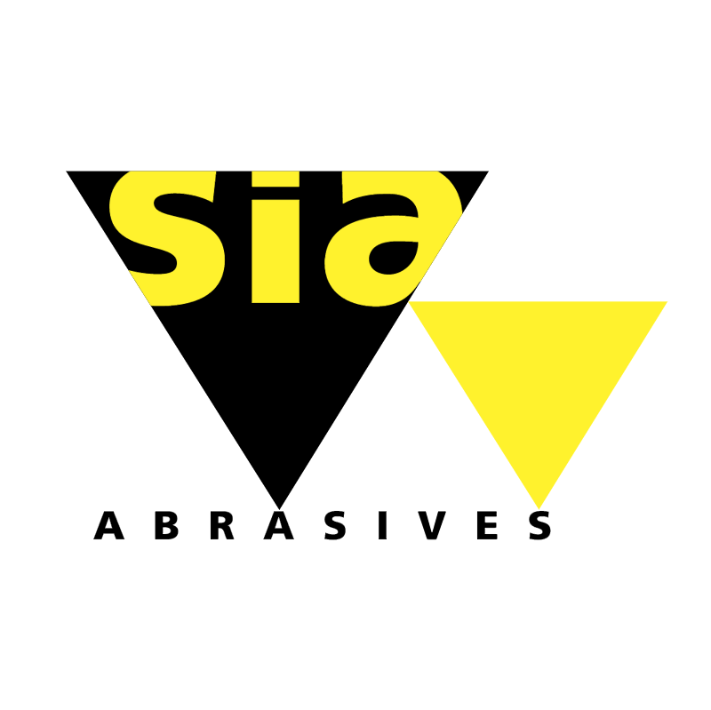 sia Abrasives vector logo