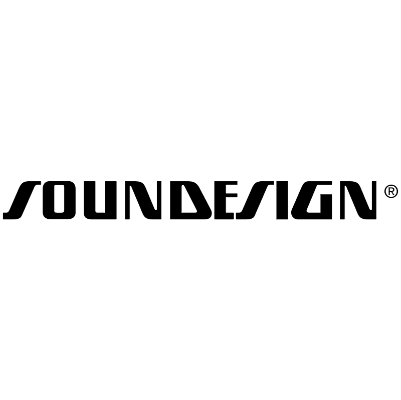 Soundesign vector logo