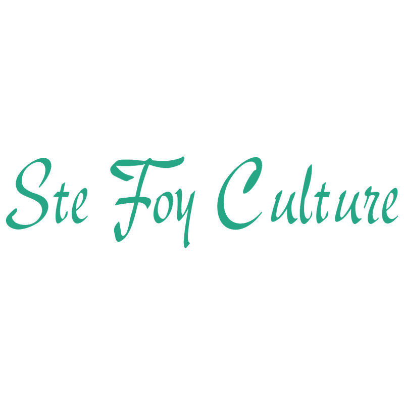 Ste Foy Culture vector