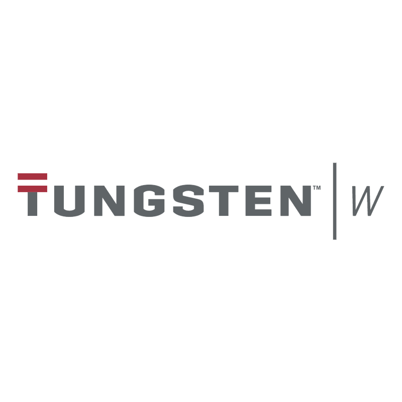 Tungsten W vector