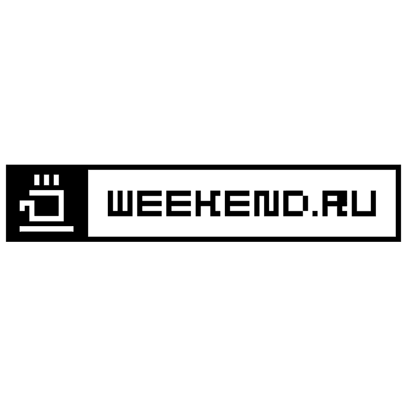 weekend ru vector