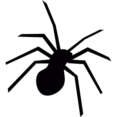 Spider insect vector logo