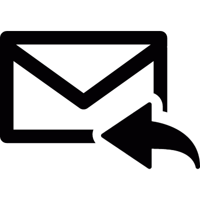 Reply email vector logo