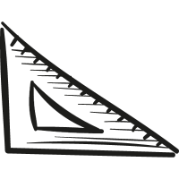 Draw Set Square