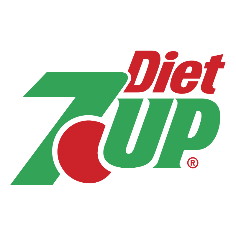 7Up Diet vector