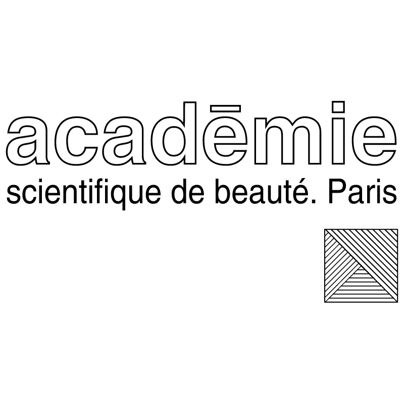 Academie scientifique de beaute vector