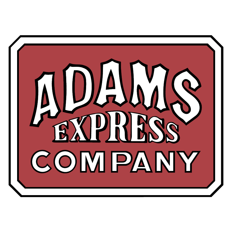 Adams Express Company 33334 vector
