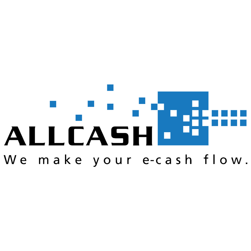 Allcash vector logo