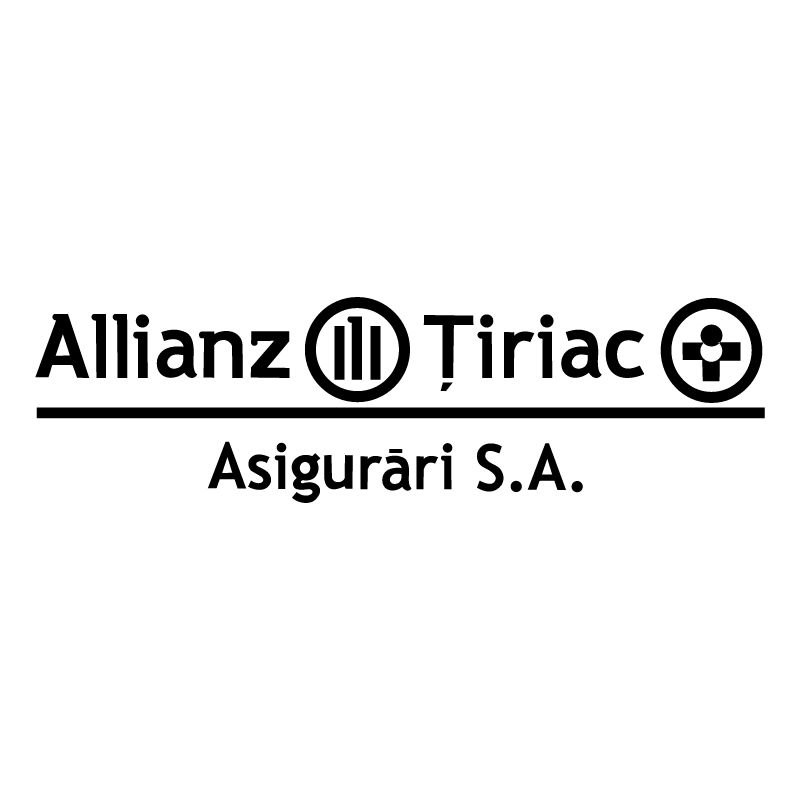 Allianz Tiriac vector logo