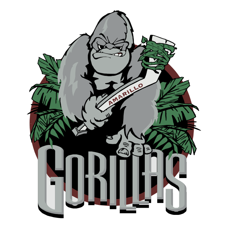 Amarillo Gorillas vector
