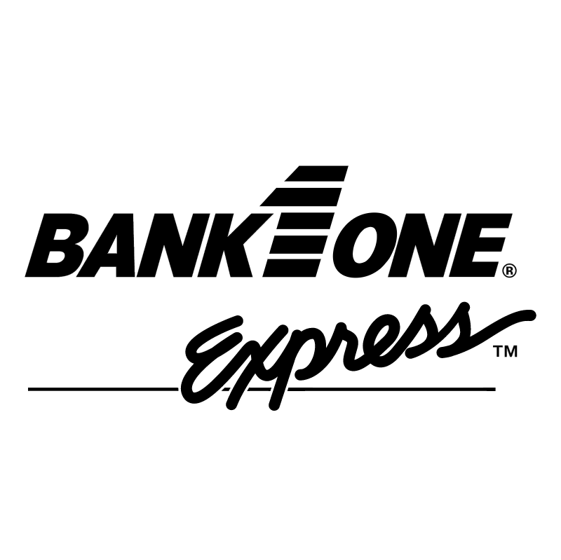 Bank One Express vector