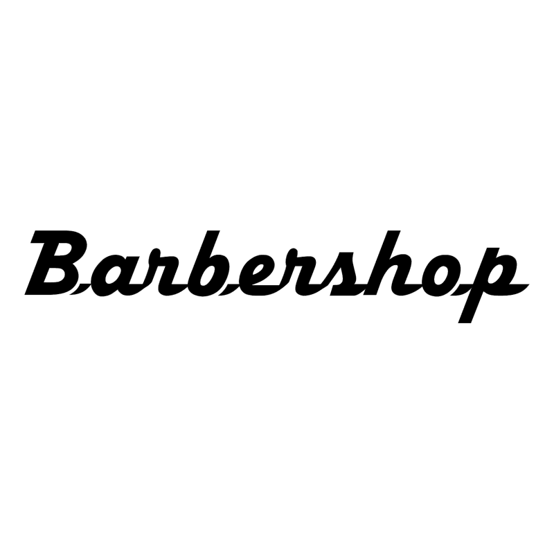 Barbershop vector logo