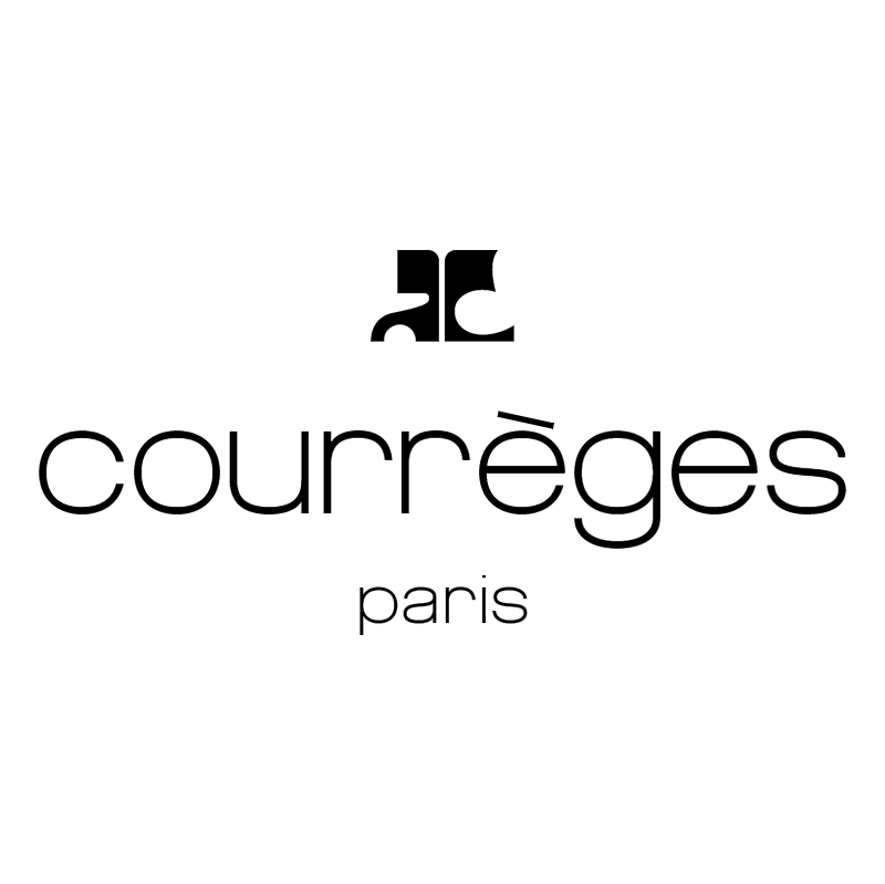 Courreges Paris vector