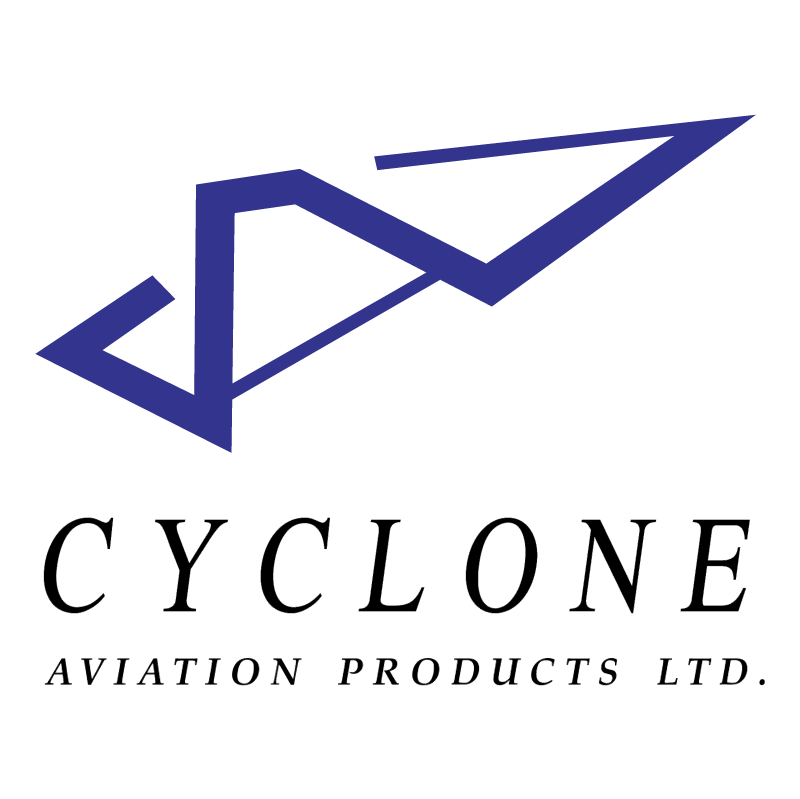 Cyclone Aviation Products vector logo