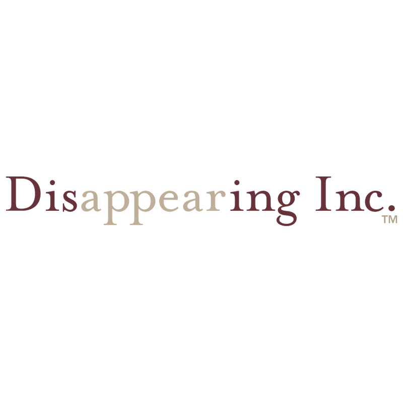 Disappearing logo