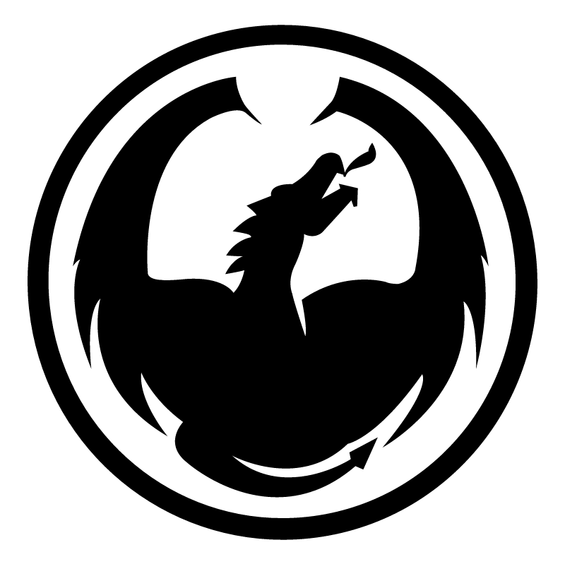 Dragon Optical vector logo