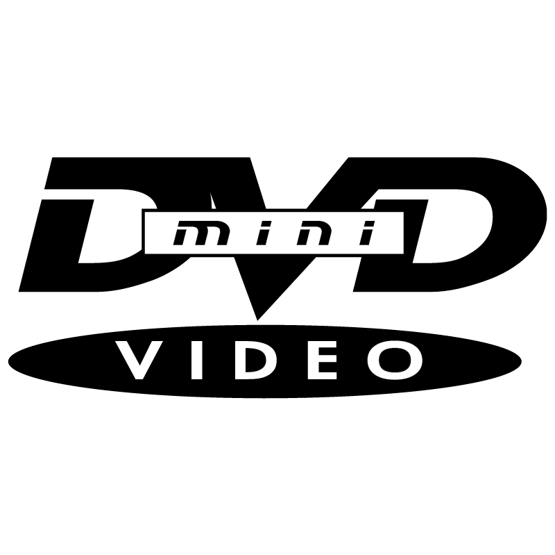 DVD Video mini vector logo