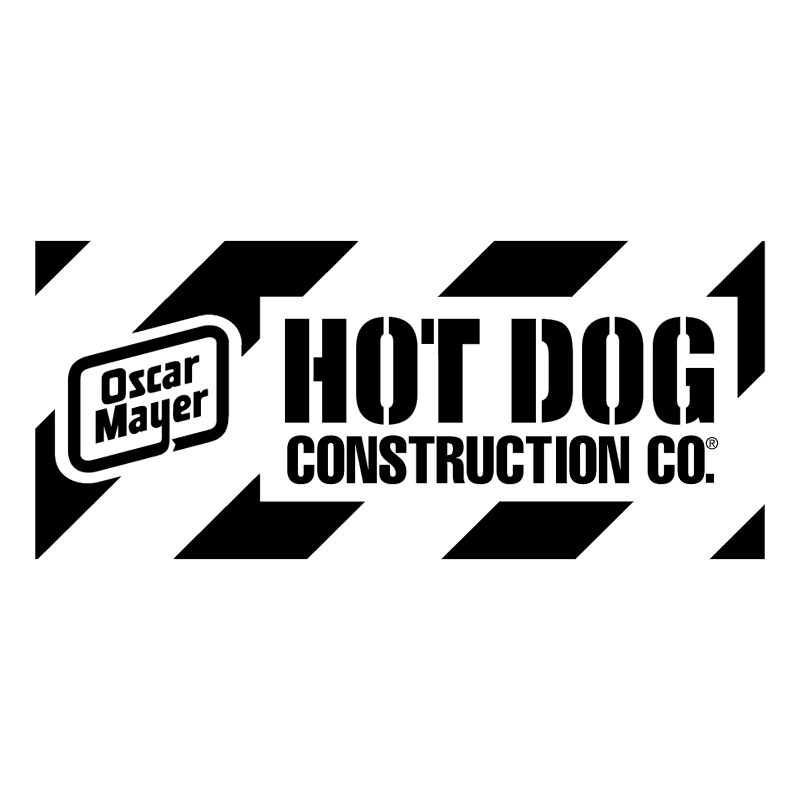 Hot Dog Construction vector
