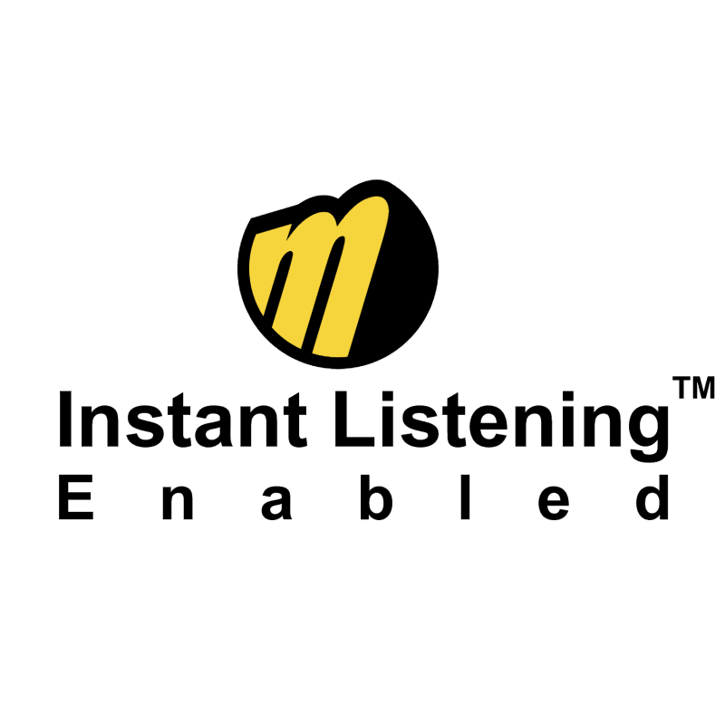 Instant Listening Enabled vector