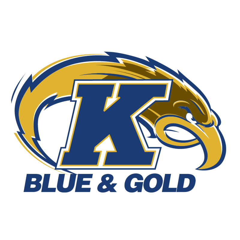 Ken State Blue & Gold vector logo