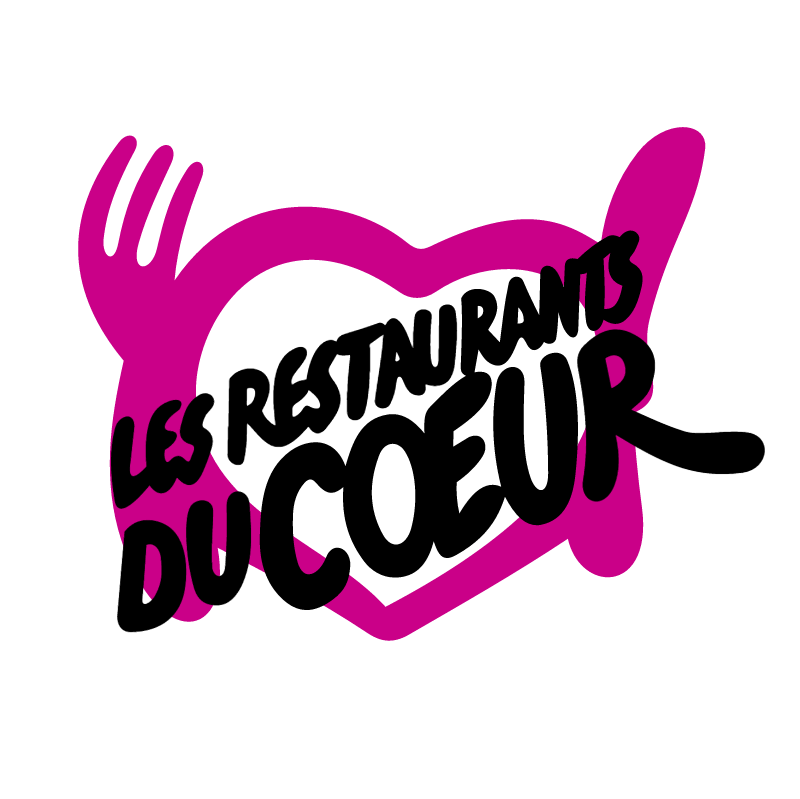 Les Restaurants Du Coeur vector