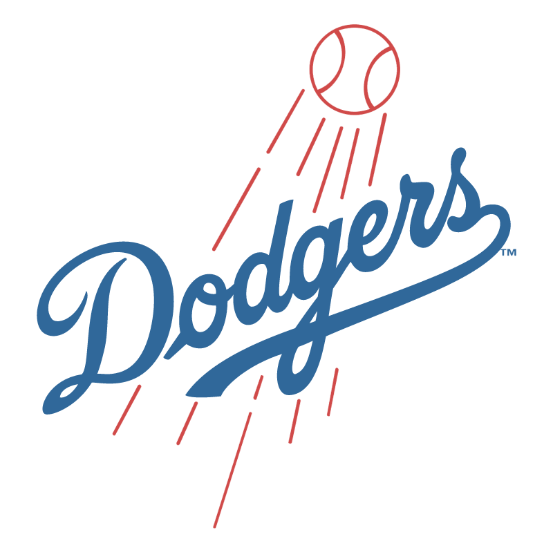 Los Angeles Dodgers vector