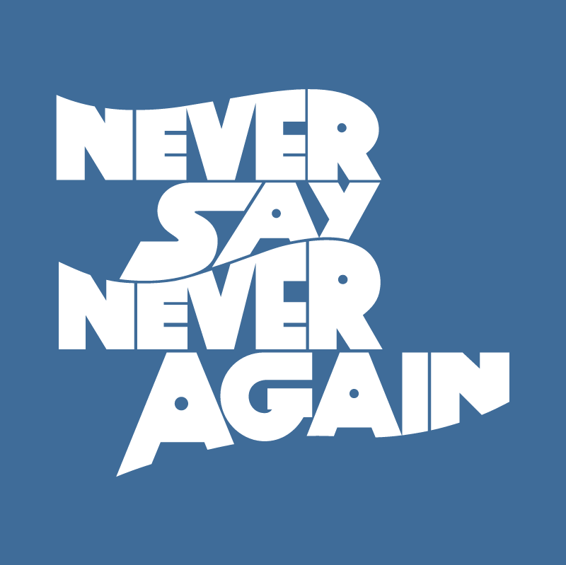 Never Say Never Again vector