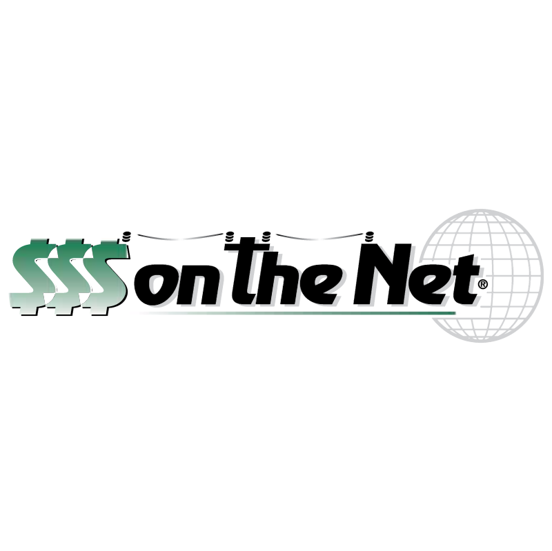on the Net vector logo