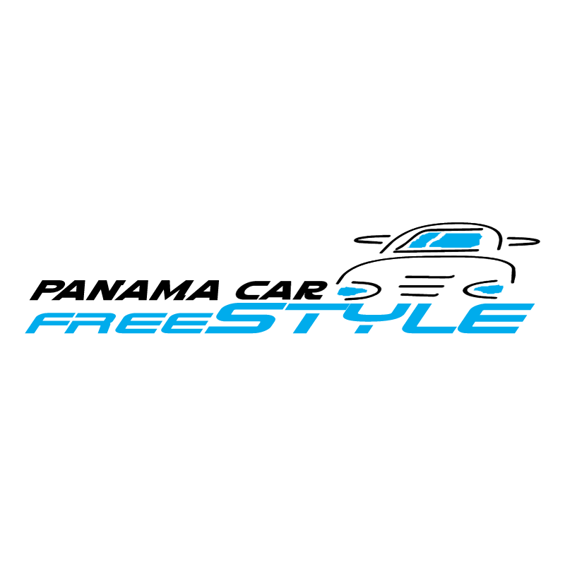 Panama Car Freestyle vector