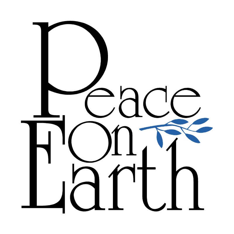 Peace On Earth vector logo
