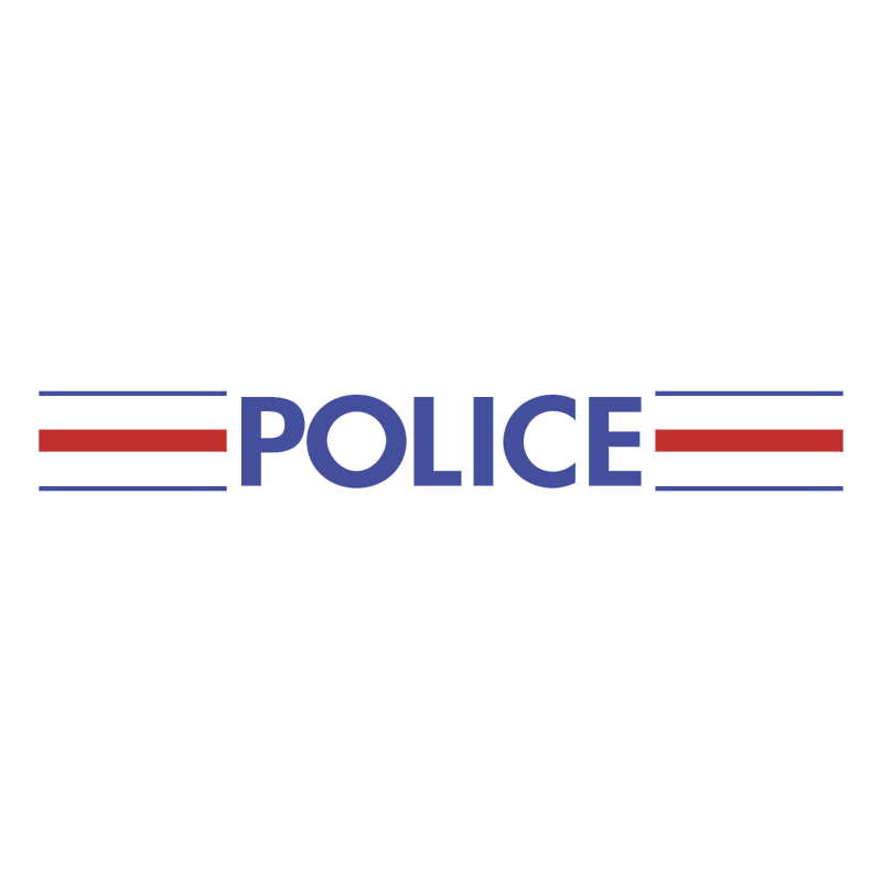 Police Nationale Francaise vector