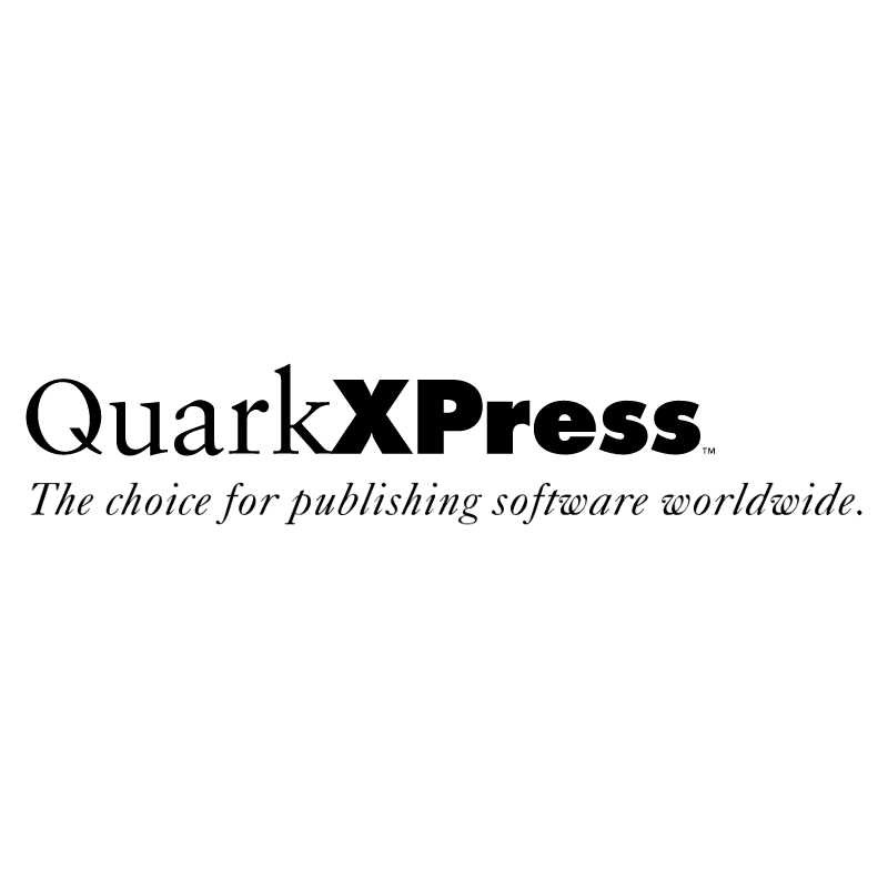 QuarkXPress vector