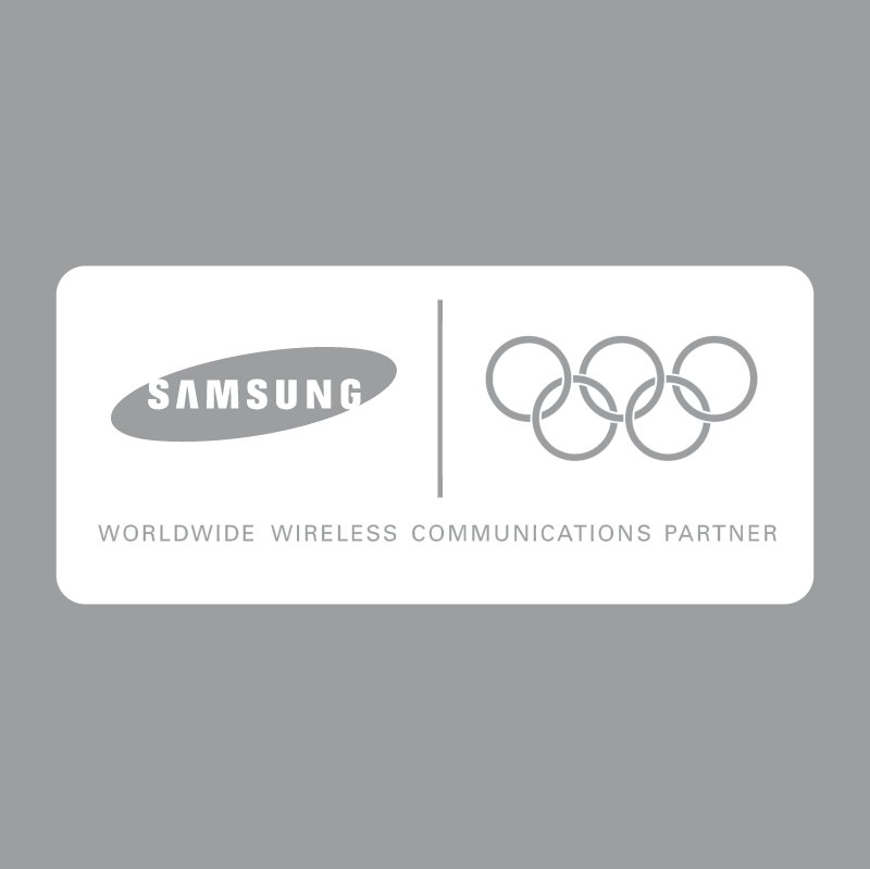 Samsung Olympic Partner vector