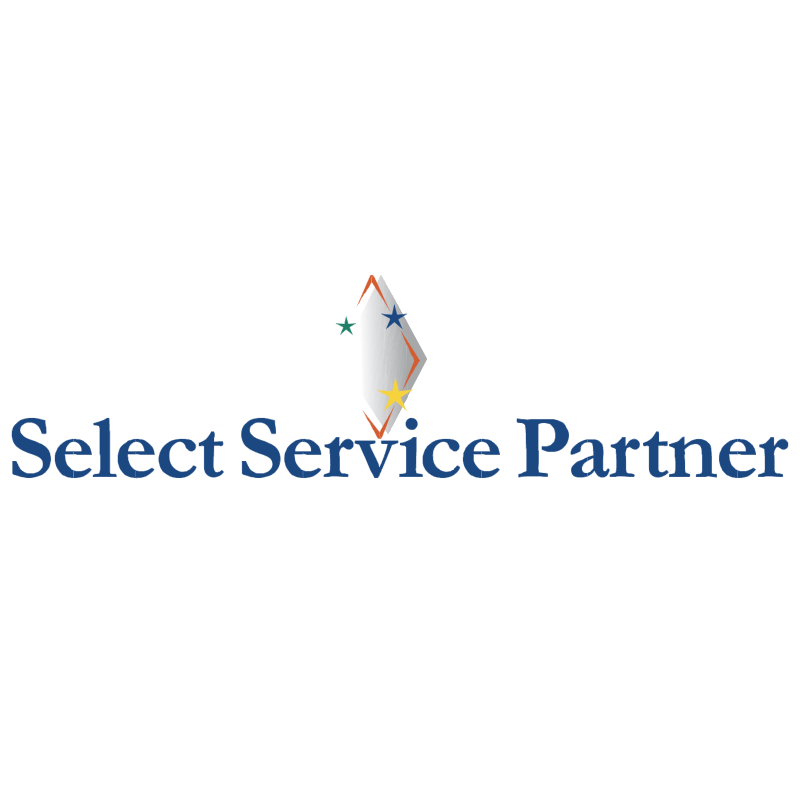 Select Service Partner vector