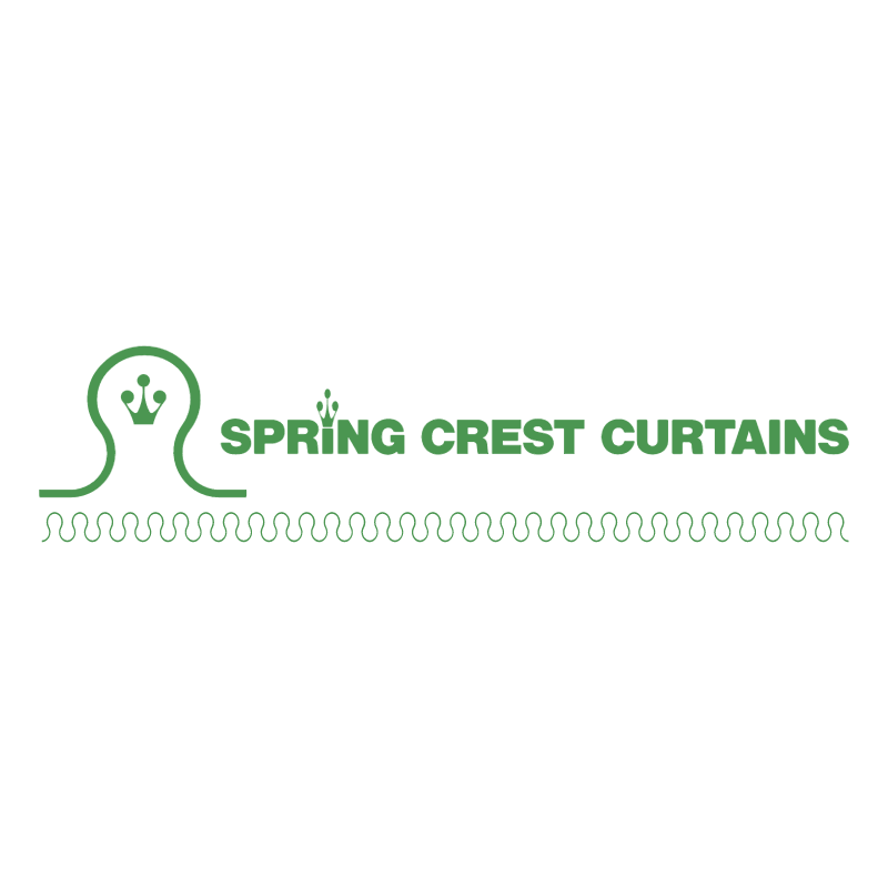 Spring Crest Curtains vector