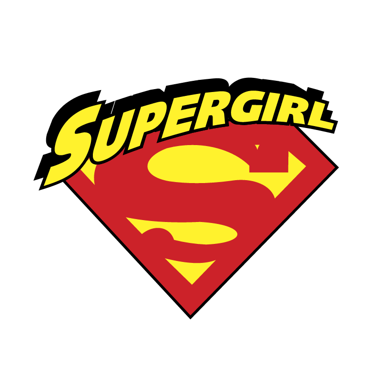 Supergirl vector