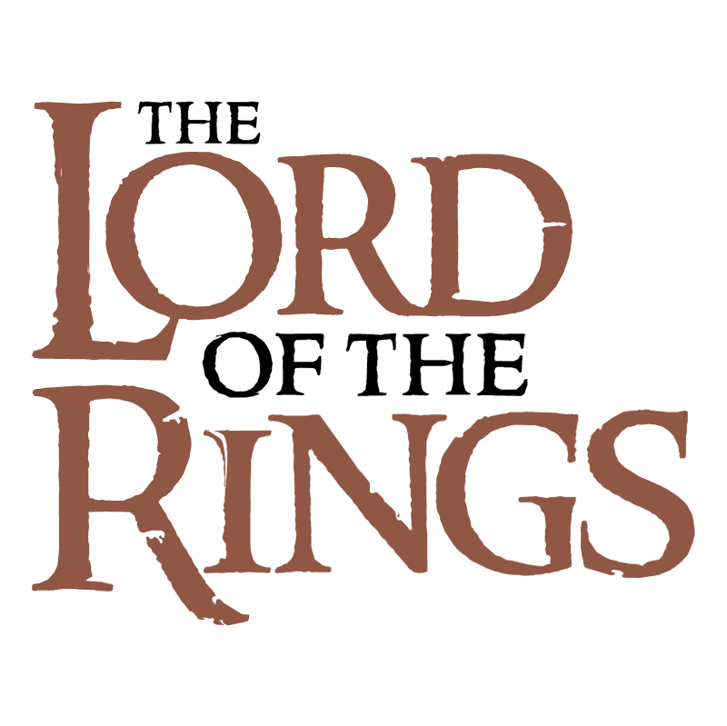 The Lord of the Rings vector logo