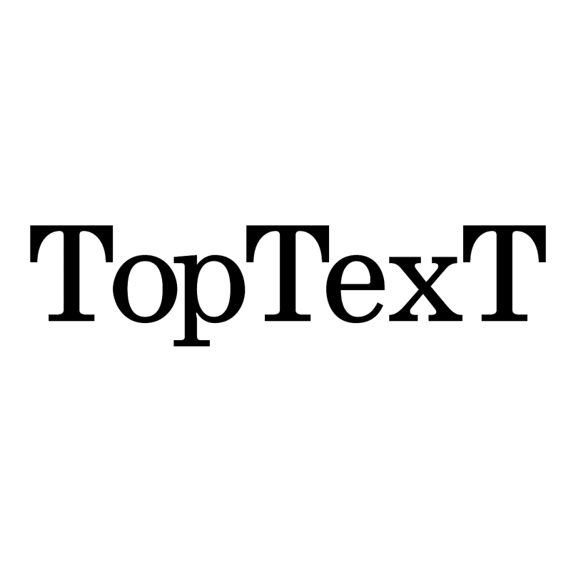 TopTexT vector