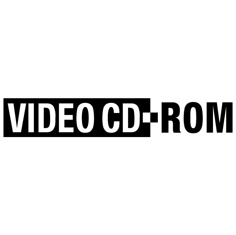 Video CD ROM vector