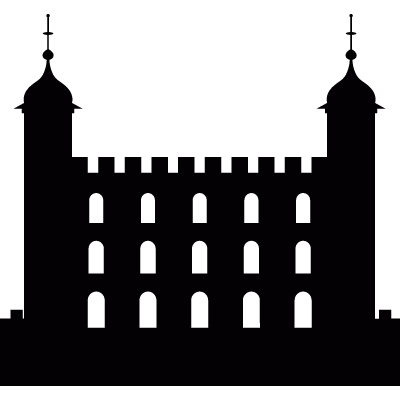 Tower of London vector logo