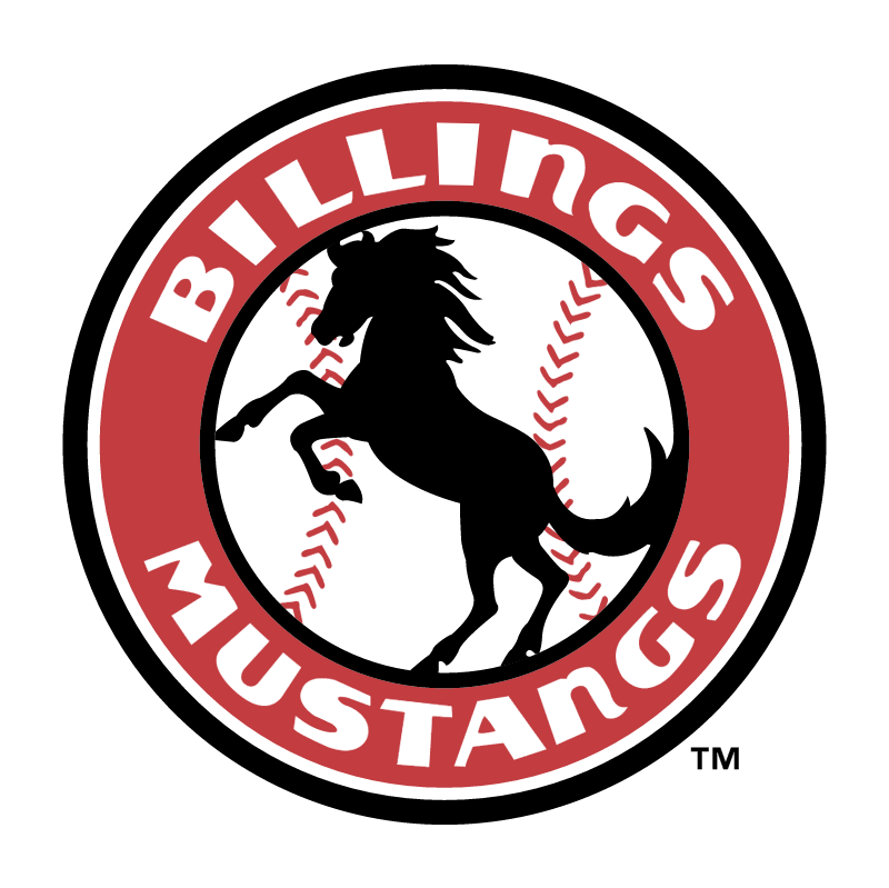 Billings Mustangs 58788 vector