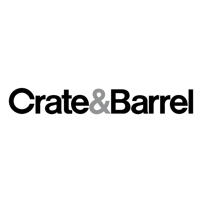 Crate & Barrel vector logo
