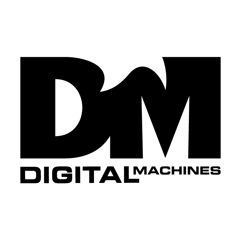 Digital Machines vector logo