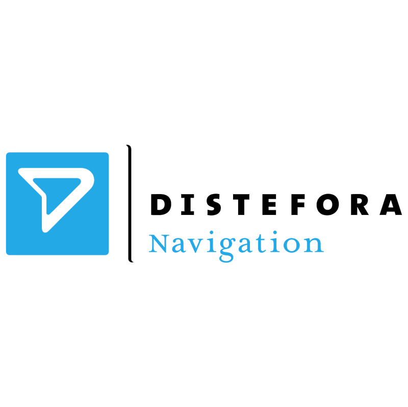 Distefora Navigation vector