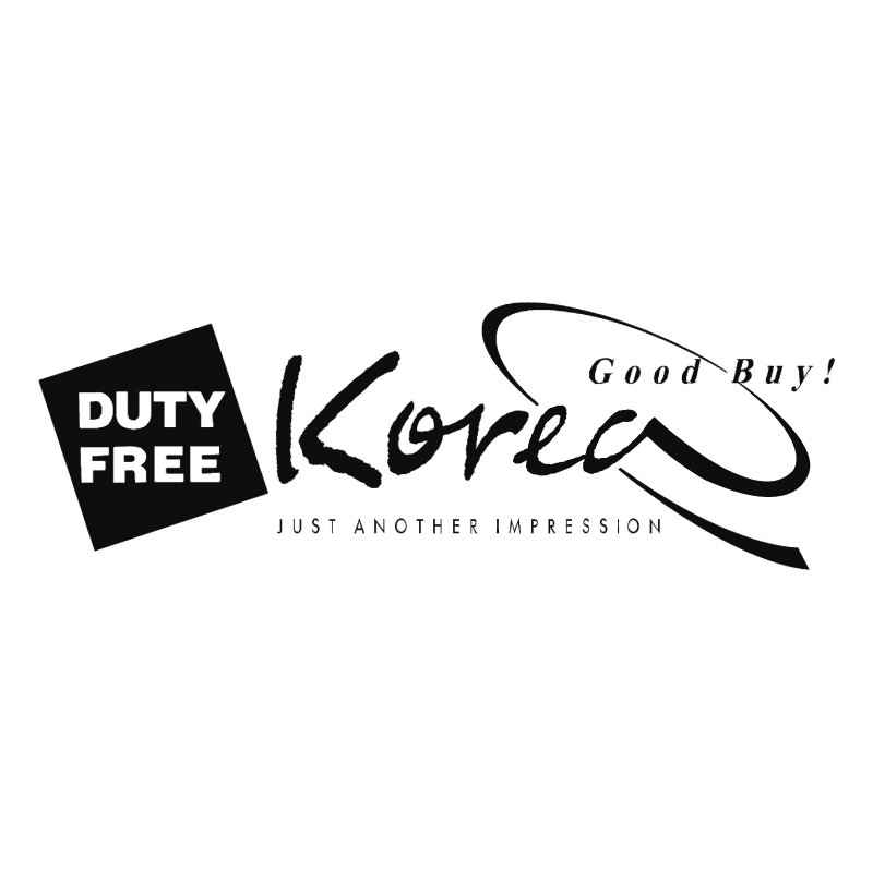 Duty Free Korea vector